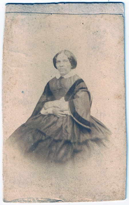French Woman, Seated, c. 1858