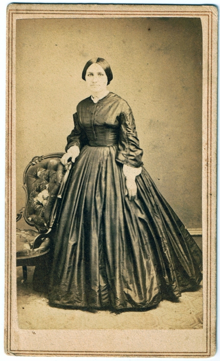 Woman in Plain Silk, c. 1860