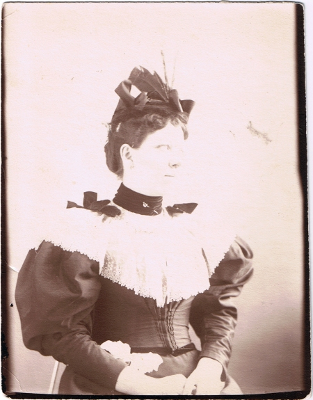 Woman with Sword Pin, c. 1895